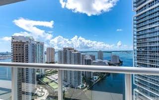 Icon Brickell. Unit3107. Balcony